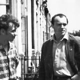 В.Юр'єв та М.Вінграновський. 1961-62 рр. (З фондiв галереї  Єлисаветград)